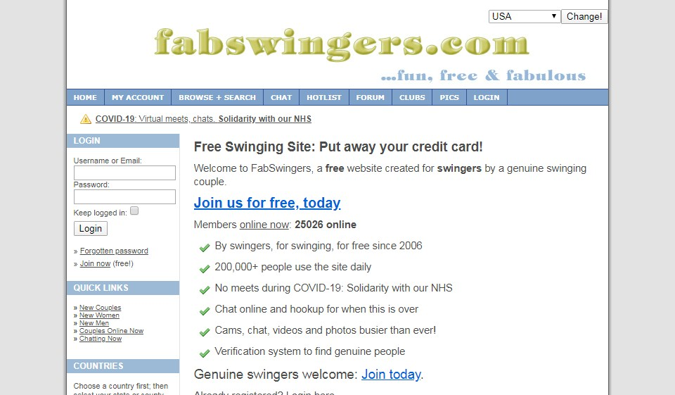 FabSwingers Review 2021
