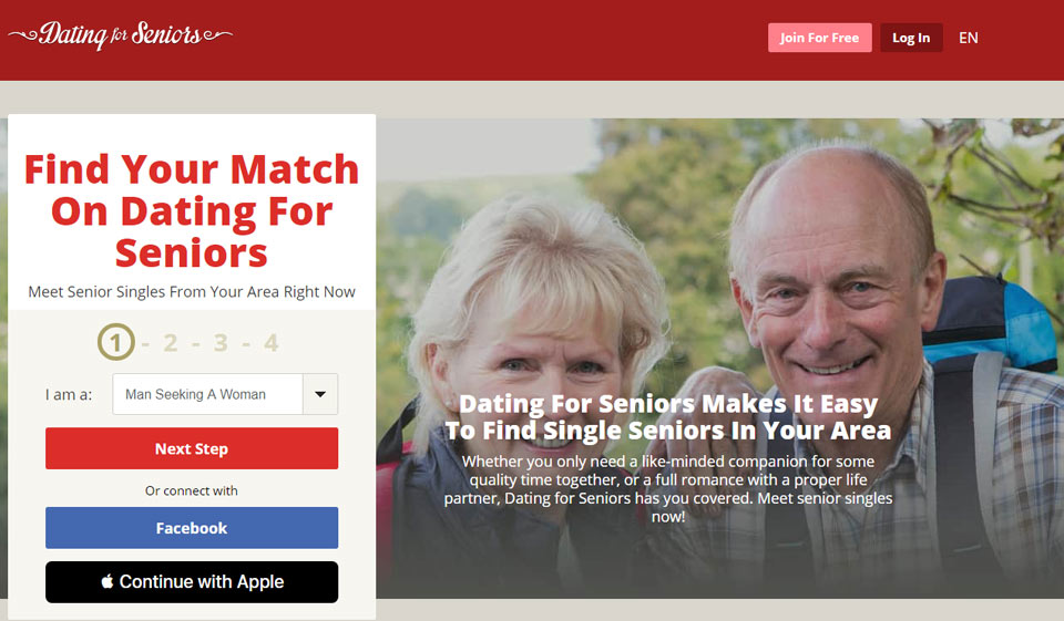 Dating for Seniors Review 2021