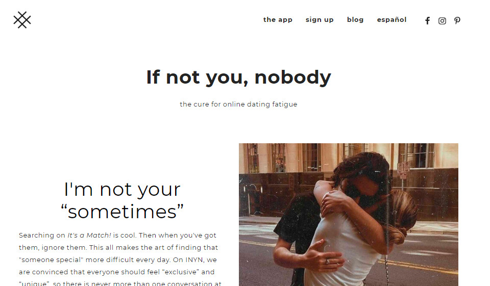 If Not You, Nobody Recensione 2021